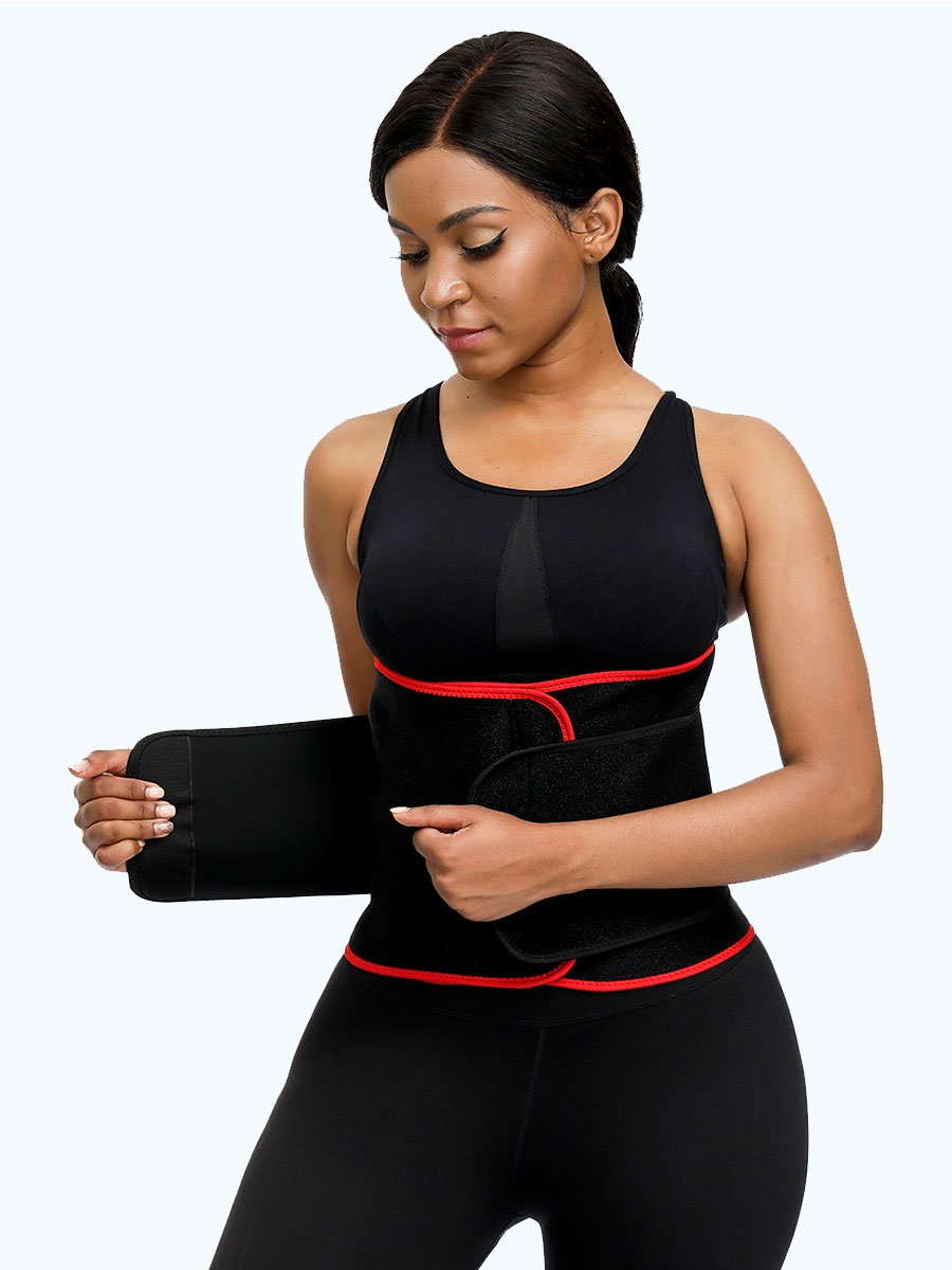 okiwilldo Neoprene Firm Compression Workout Belt