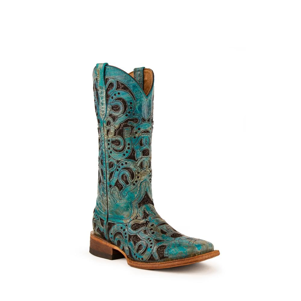 Women'S Round Toe Mid-Tube Western Boots