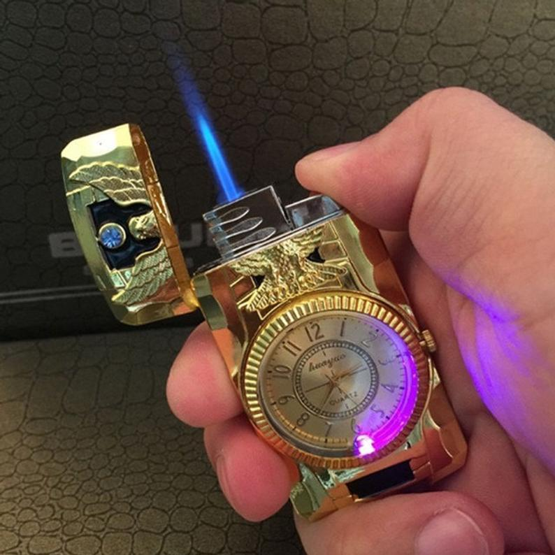 【🌟Promotion-50% OFF】-Luxurious clock lighter