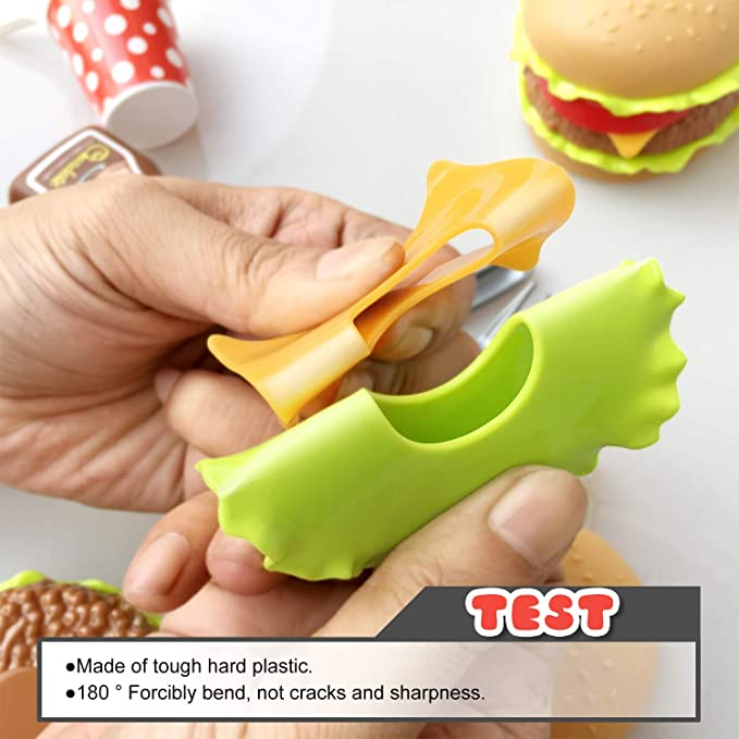 🎅40% off Christmas sale🧦French fries hamburger set toy