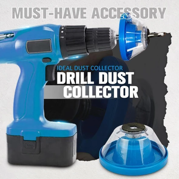 Must-Have Accessory Drill Dust Collector(Buy 2 Free Shipping)