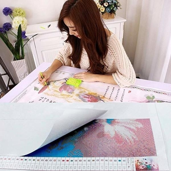 New HCYdarker Girl Prayer Mode Adult 5D Diamond Painting Kit (available In Six Sizes)