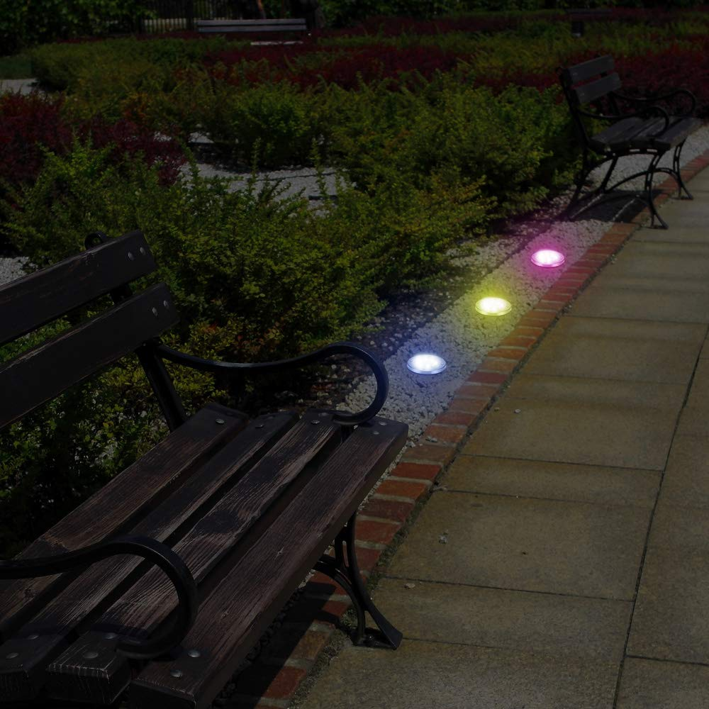LED Outdoor Waterproof Solar Colorful Garden Light