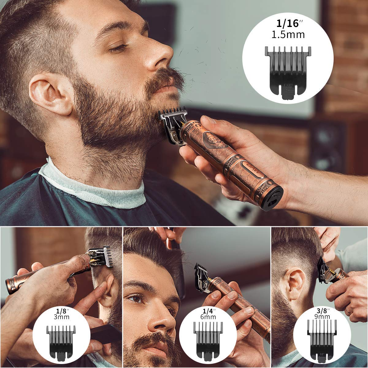 (Save 30% OFF) 2021 New Rechargeable T-blade Men's Hair Clipper