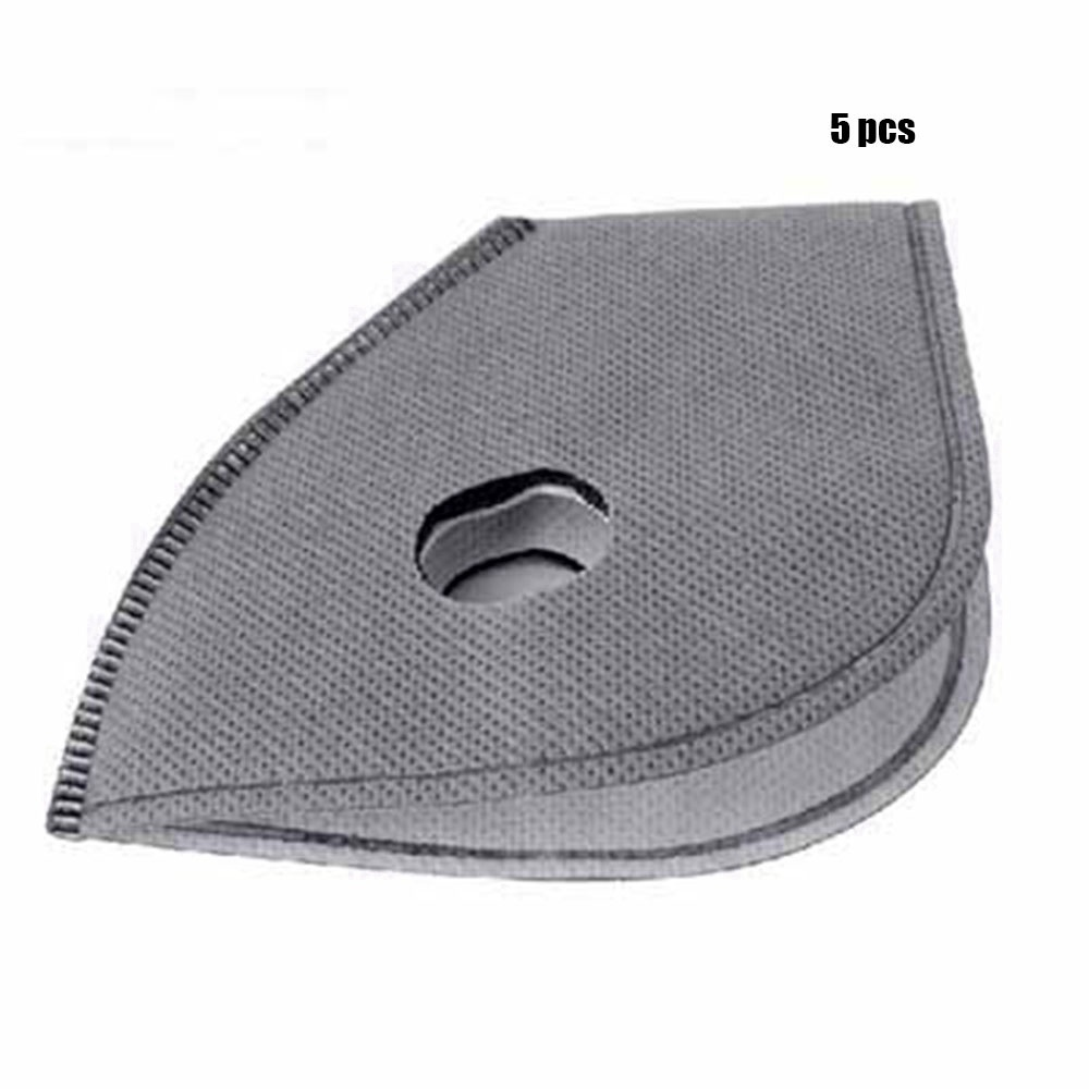 30pcs Hot sale Breathable Outdoor Accessories Anti Pollution Smog Bike Mask Filter Anti-dust Tool Motorcycle Bicycle Cycling Activated Carbon Masks