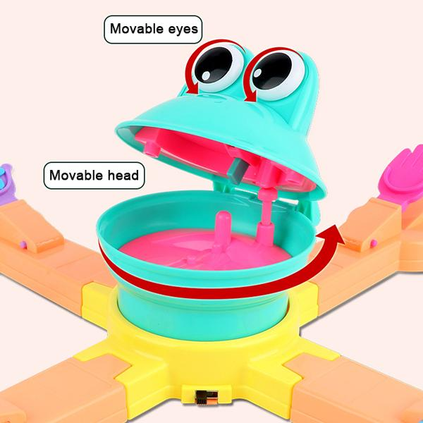 🌟Christmas Hot Sales🌟Funny Feeding the Frog Game