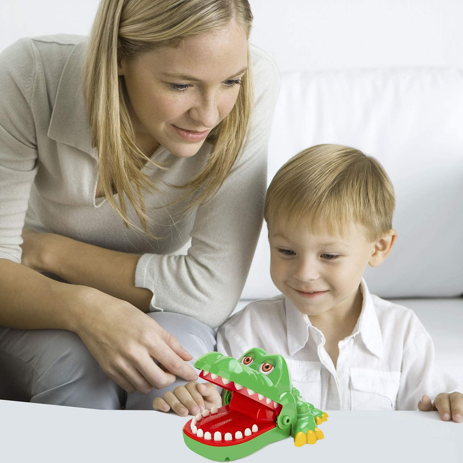 Crocodile Teeth Toys Game for Kids, Crocodile Biting Finger Dentist Games Funny Toys, 2020 Version