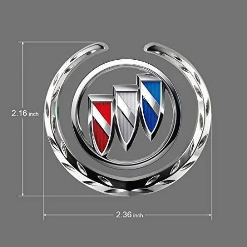 Buy 2(2PC)Free Shipping——[Hot Sale] 50% OFF-Car Logo 3D C-pillar wheat car sticker and Suitable for four car windows