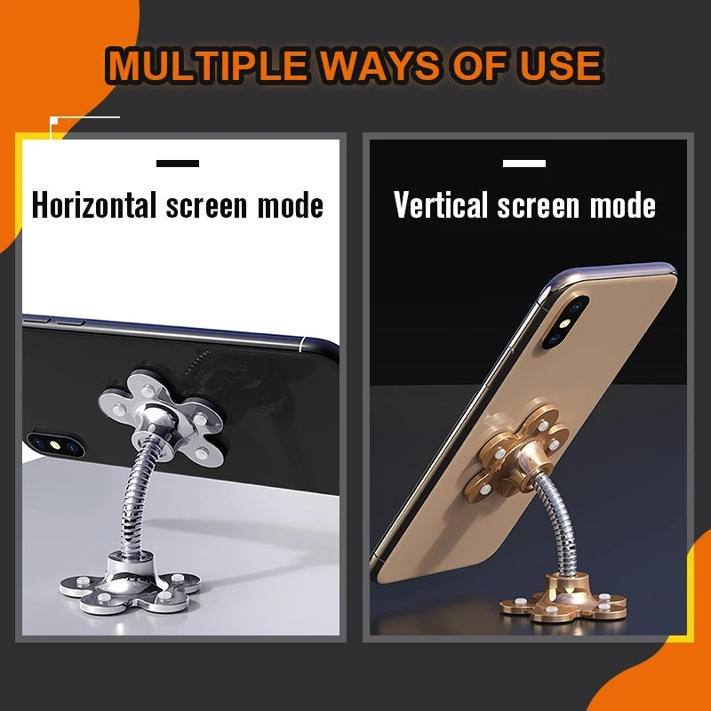 (Year End Of - SAVE 50% OFF) Rotatable Multi-Angle Phone Holder - 360° Arbitrary Rotation
