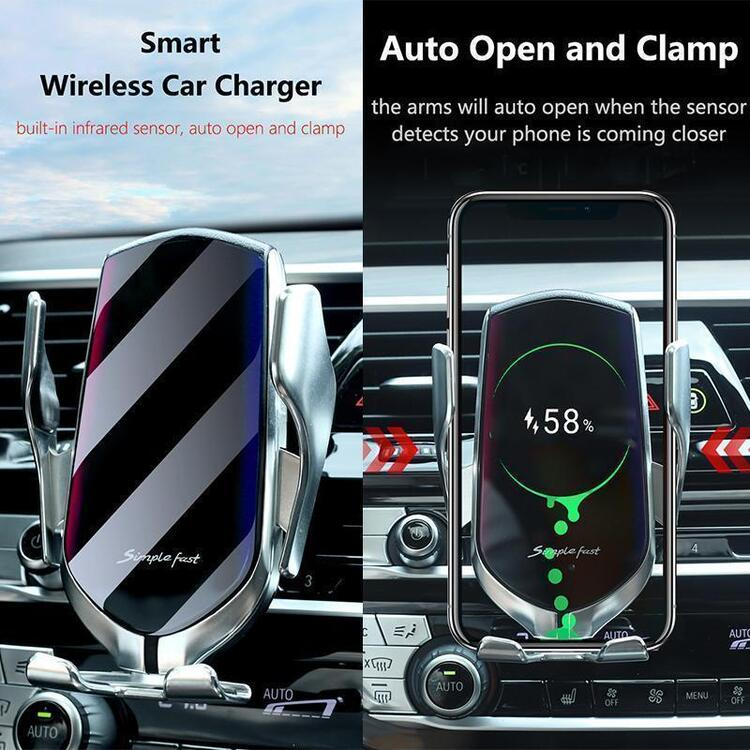 🔥 2020 New Hot 🔥Wireless Automatic Sensor Car Phone Holder and Charger
