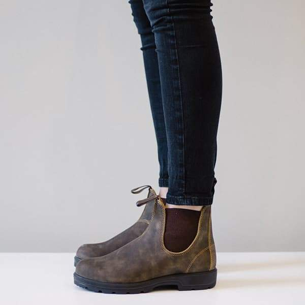 Zoeyootd Women Classical Vintage Boot