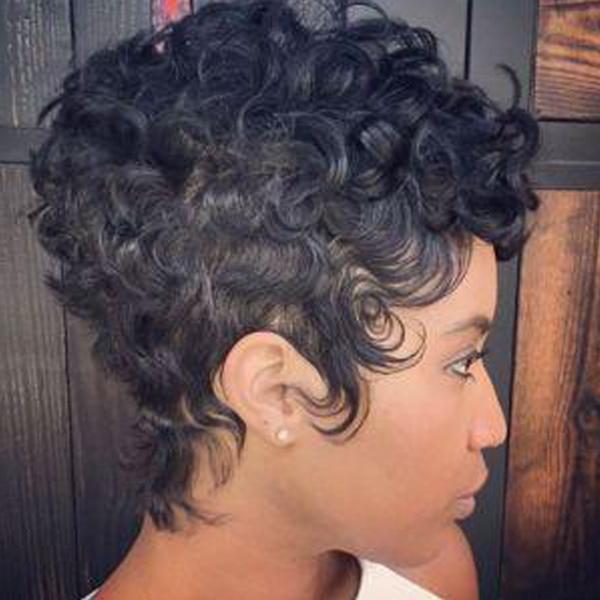 Luna Wig 028 Women Gorgeous Short Curly Layered for African American