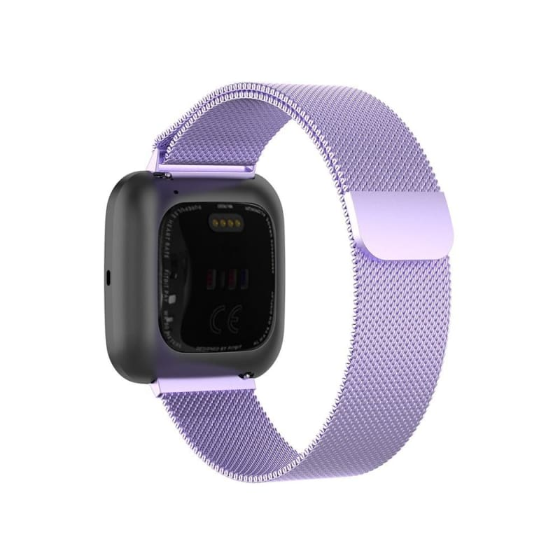 Smart Watch Wristbands Replacement Metal Magnetic Quick Release Milanese Loop Watch Band Stainless Steel Strap For Fitbit versa 2