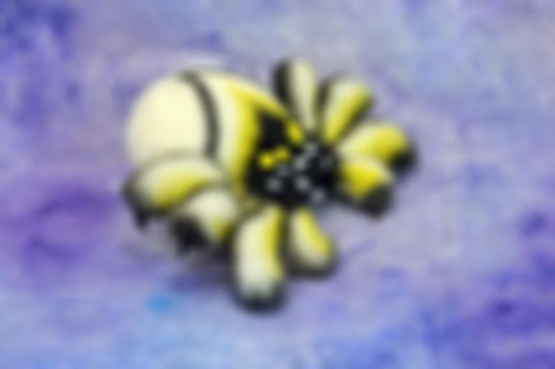 Colored little spider soft toy