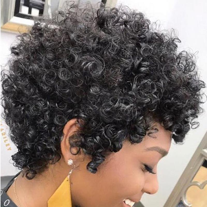 Luna Wig 038 Women Short Curly Gorgeous Hair for African American