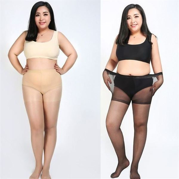 Plus Size Women Tights Over Size Pantyhose Suitable For 100KG Ladies Stockings LoveY1