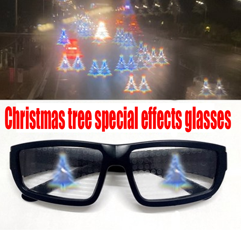 🎄🎄Christmas special effects glasses💝(buy 2 free shipping)