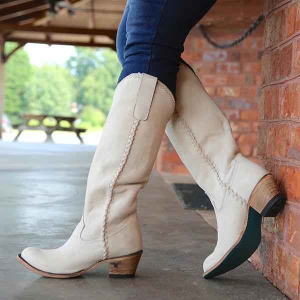 Bonnieshoes Vintage Cowgirl Holiday Long Boots