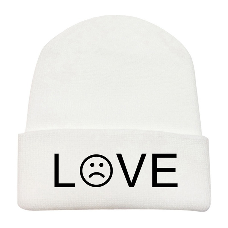 Lil Peep Embroidery Beanie Hat R.I.P Men Women Winter Warm Knitted Skullies &Amp;Amp; Beanies Outdoor Ski Hip Hop Hat