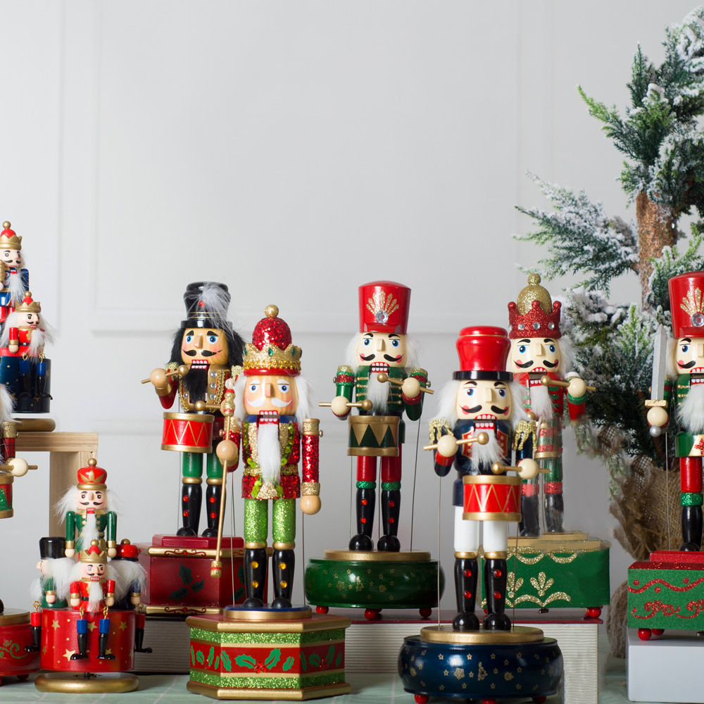 🌟Christmas Hot Sales🌟Animated Musical Nutcracker with drum