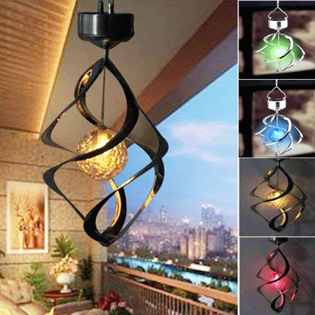(Factory Outlet) (60% OFF!!) SOLAR WIND CHIME