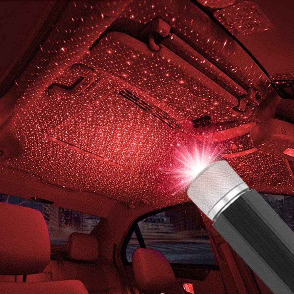 Buy 2 Get 1 Free】 Plug and Play - Car and Home Ceiling Romantic USB Night Light!