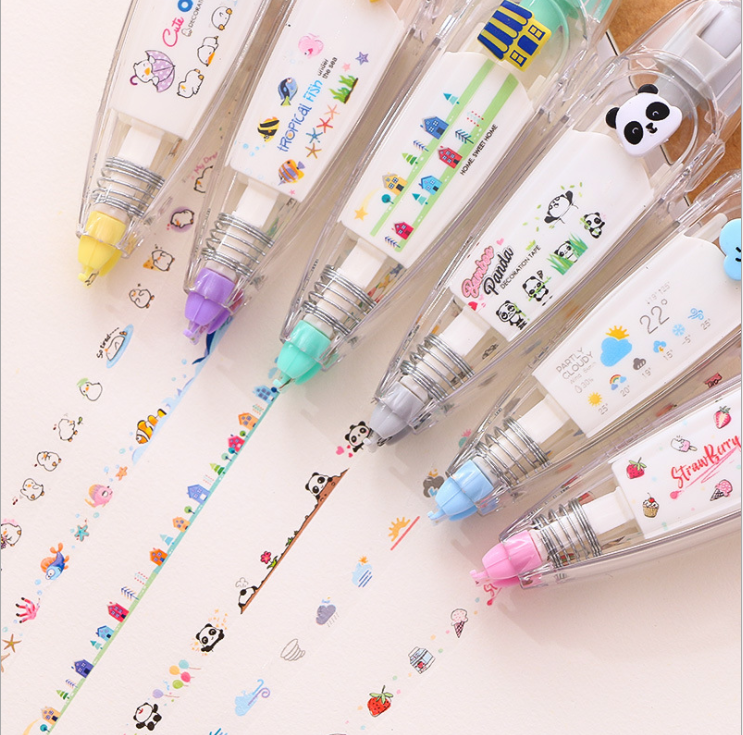 CUTE  TAPE PEN