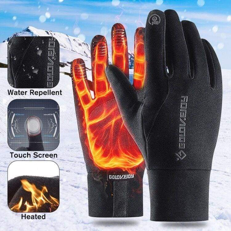 Antiskid Men Women Winter Thermal Outdoor Sports Motorcycle Windproof Touch Screen Gloves Guanti caldi guantes Gants Guantes Para Moto