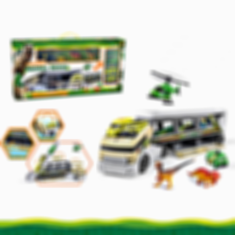 Giant Dinosaur Transporter Truck Toy Carrier with Cars and Dinosaurs, Great Toy Truck and Car Carrier