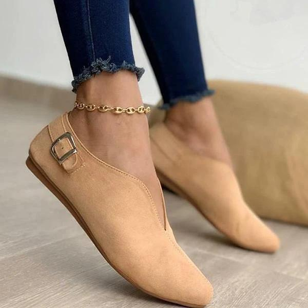 Mokoshoes Women Casual Daily Comfy Slip-On Loafers Flats