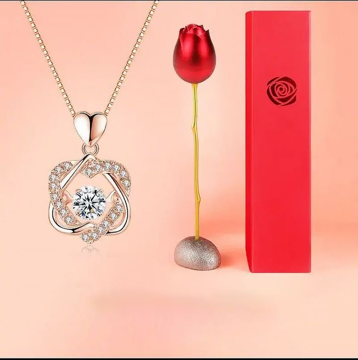 🔥50% OFF🔥TOPAZ PENDANT NECKLACE SET (BUY 2 FREE SHIPPING)