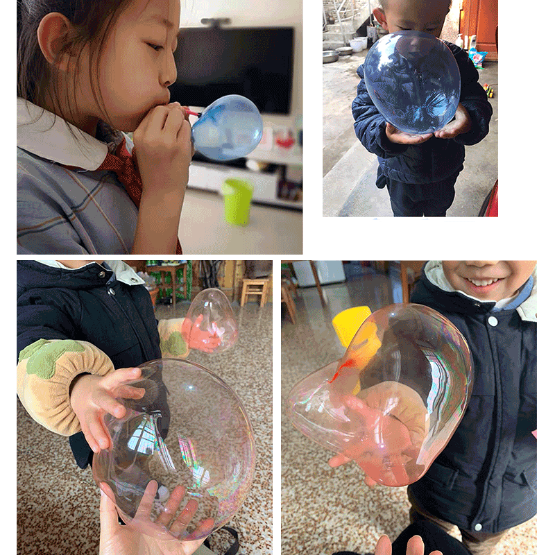 Space Balloon Touch Bubble Toy