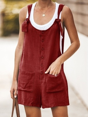 [70% Discount]Women's Summer Casual Loose Jumpsuit(Buy 3 And Up Get Free Shipping)