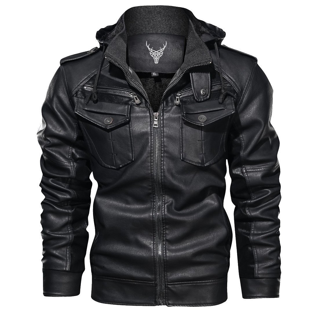 Outwear Rough Rider Leather Jacket