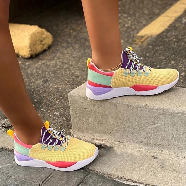 Mokoshoes Women's Summer Color Light Sneakers