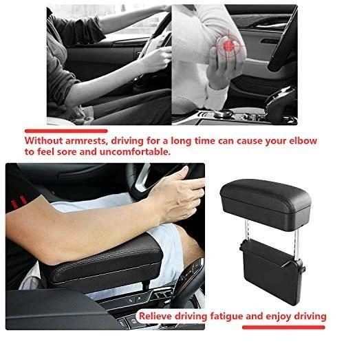 Universal Car Armrest Box With Wireless Charging