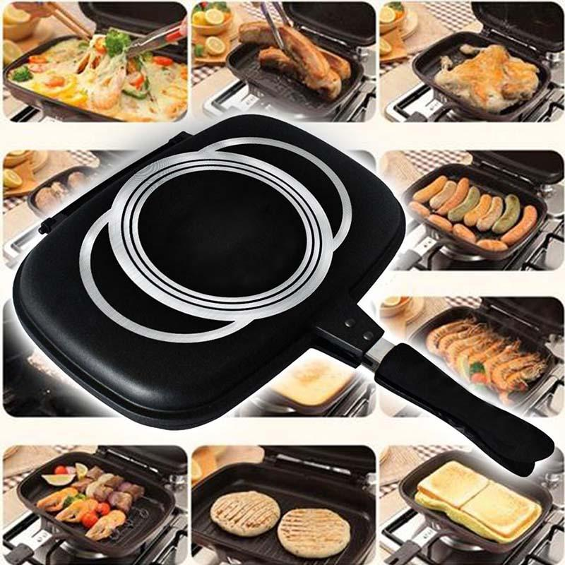 Double Sided Grill Pan