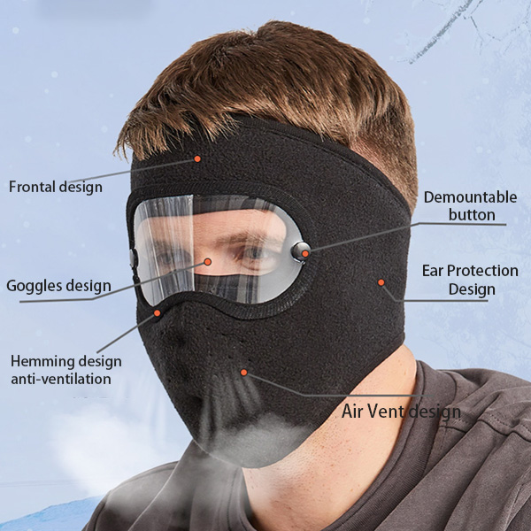 Facial Protection Anti-Fog, Dust-Proof Cover