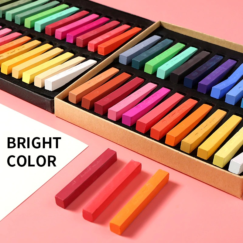 12/24/36/48 colors Painting Crayons for Artist Student School Soft Pastel Art Drawing Set Chalk Color Crayon