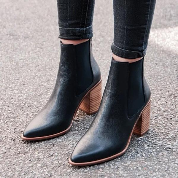 Mokoshoes Lover Dress Ankle Boots