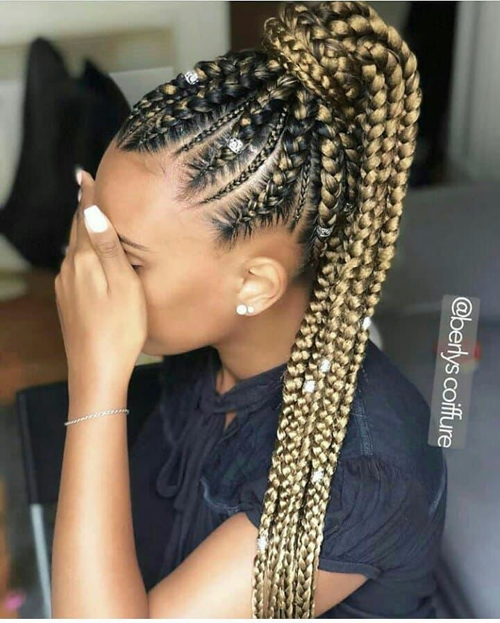 Best Braiding Hairstyles African American Hair 715 Store Hairstyles For Natural Curly Hair Blonde And Brown Box Braids Jumbo Box Braids