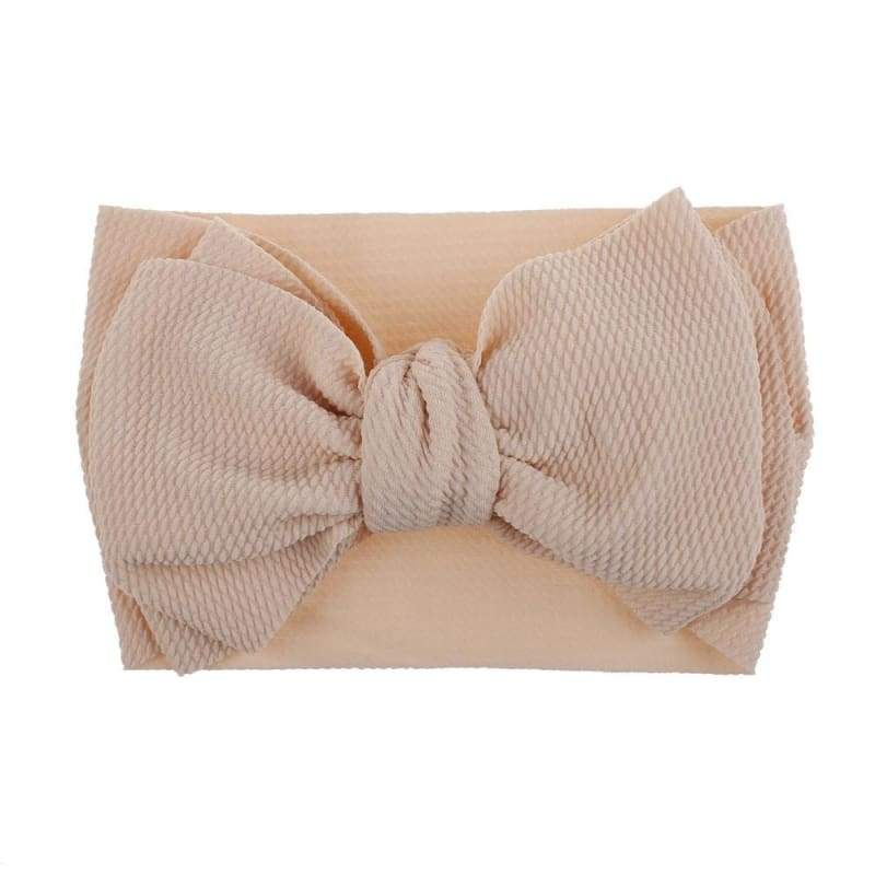 Adjustable Big Bow Baby Headband Top Knot Headbands Over Sized Bow Hair Newborn Head Band Girl Large Hair Bows Baby Hair Accessories