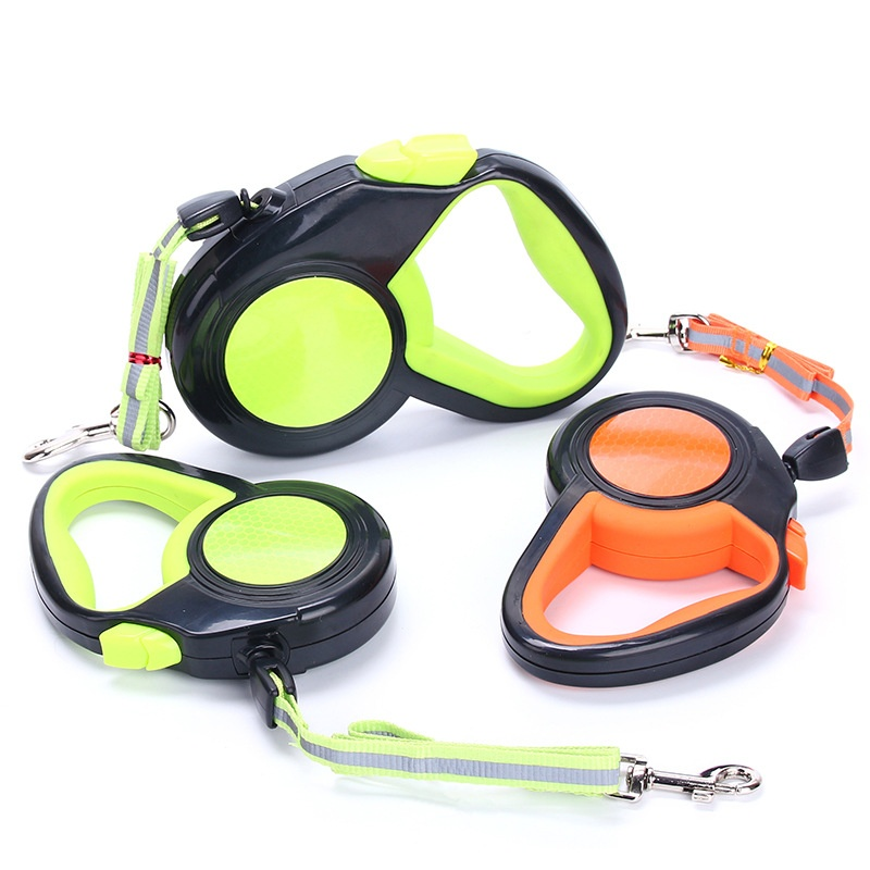 3m / 5m/8m Automatic Retractable Pet Leash Reflective Nylon Traction Rope Cat Dog Outdoor Walk Running Training Pet Stuff