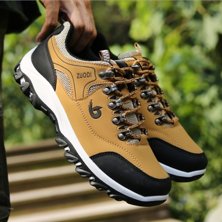 NEW Men Hiking Shoes Waterproof Non-slip Sport Shoes Casual Running Camping Shoes Outdoor Indoor Sneakers for Men 3 Colors