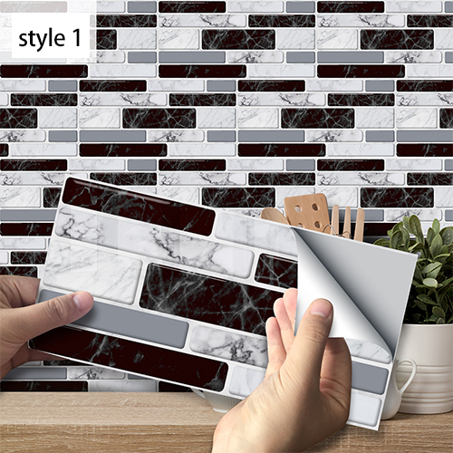 [Factory Outlet-Flash Sale] Creative Home Beautification 3D Tile Stickers