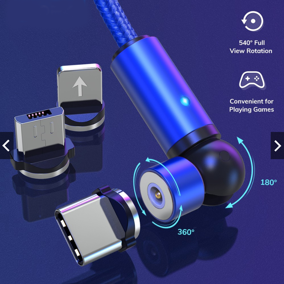 Gamer's Innovative Lightning Fast Charging Cable