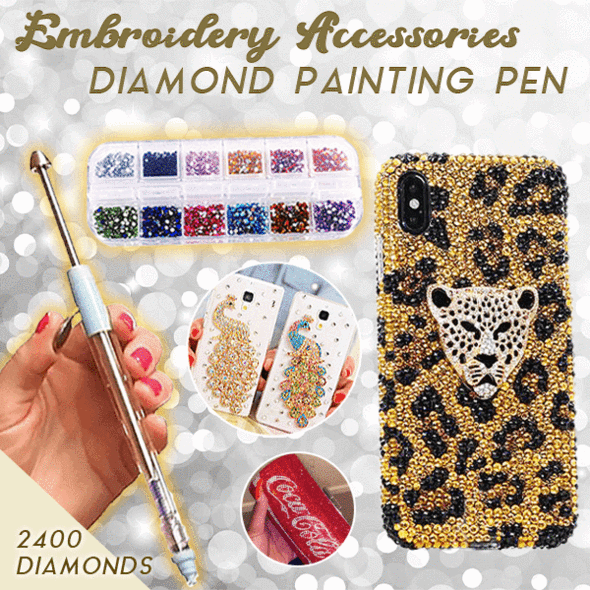 (LAST DAY PROMOTION-SAVE 50% OFF) Embroidery Accessories Diamond Painting Tools