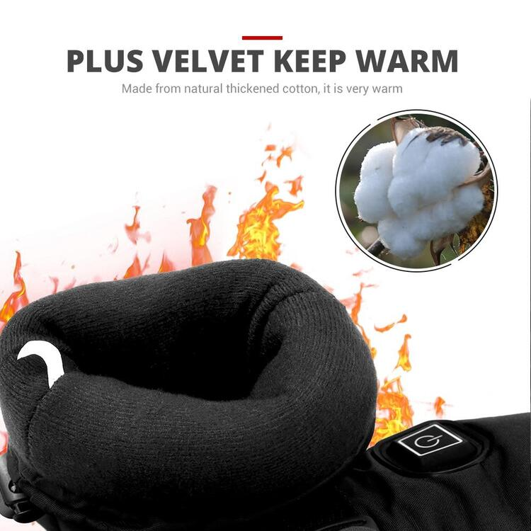 Waterproof Heated Gloves- 49% off Today Only