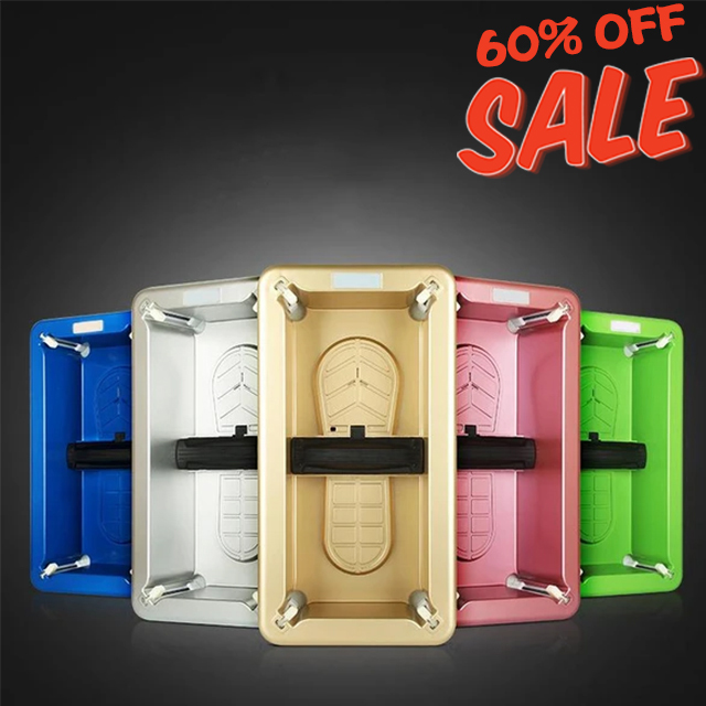 60%OFF- Global orders arrive in 3-7 days Automatic Shoe Cover Dispenser(Free one-time shoe cover)