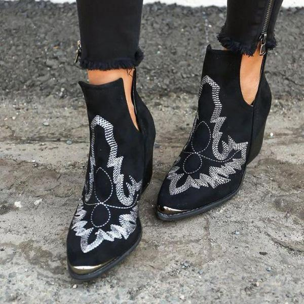 Mokoshoes Women Dream Embroidery Boots